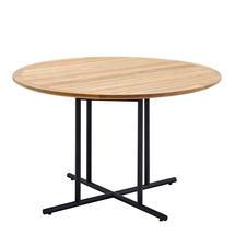Whirl 120cm Dining Table Teak  - Meteor