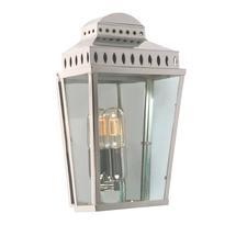 Mansion House Flush Wall Lantern - Polished Nickel