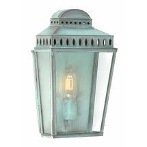 Mansion House Flush Wall Lantern - Verdigris