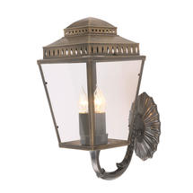 Mansion House Wall Lantern - Brass