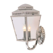 Mansion House Wall Lantern - Polished Nickel