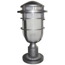Reef Pedestal Lantern - Hematite