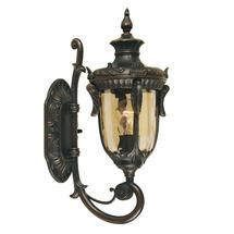 Philadelphia Outdoor Medium Up Wall Lantern - Old Bronze