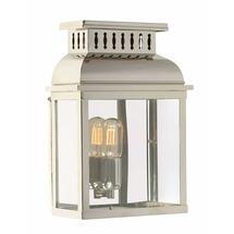 Westminster Flush Wall Lantern - Polished Nickel