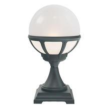 Bologna Pedestal Lantern Opaque - Black