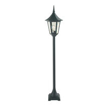 Valencia Pillar Lantern - Black