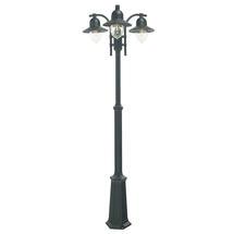Como Triple Post Lantern - Black