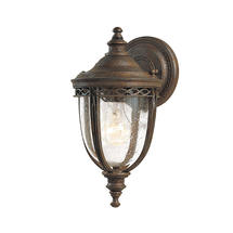 English Bridle Small Wall Lantern - Bronze