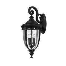 English Bridle Extra Large Wall Lantern - Black