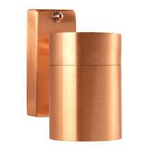 Tin Outdoor Wall Light - Copper