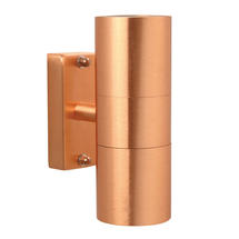 Tin Up/Down Outdoor Wall Light - Copper