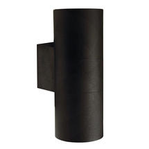 Tin Maxi Up/Down Wall Light - Black