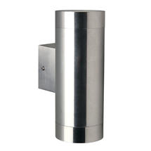 Tin Maxi Up/Down Wall Light - Stainless Steel