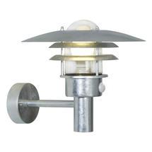 Lonstrup 32 Wall Light with Sensor - Galvanised