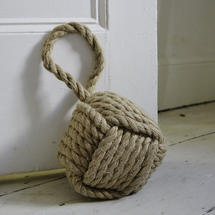 Rope Ball Doorstop - Knot