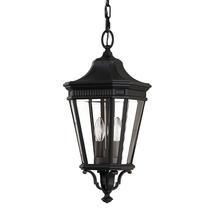 Cotswold Lane Medium Hanging Lantern - Black