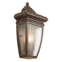 Venetian Rain Flush Wall Lantern