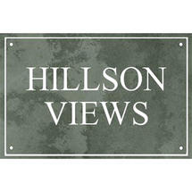 Smooth Green Slate Two Line House Sign with Border - Size 3