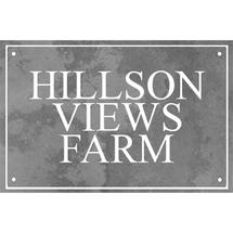 Smooth Black Slate Three Line House Sign with Border - Size 2